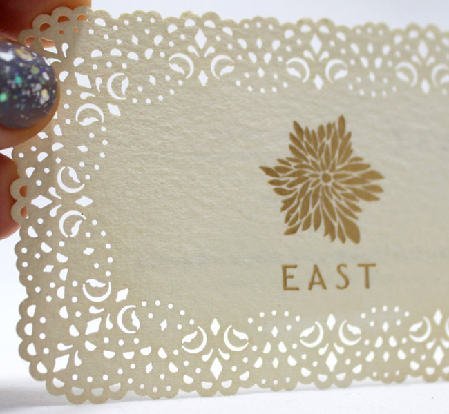 Laser Cutting card
