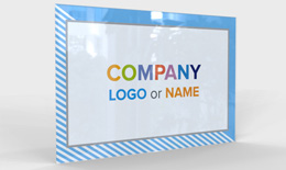 Company Sign acryl Single