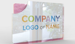 Company Sign acryl Double