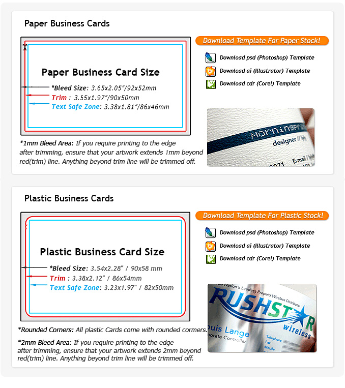 Professional Full Color Business Cards, Order Cards Design