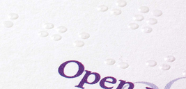 Morningprint business cards braille embossing full color braille cards reheart Choice Image