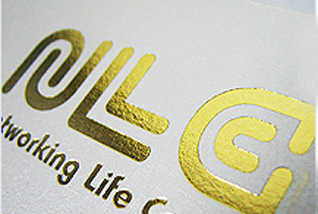 MorningPrint Bussiness Cards Foiling Gold Silver Red
